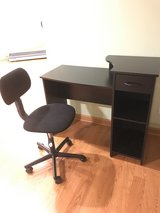 Desk with Chair in Sandwich, Illinois