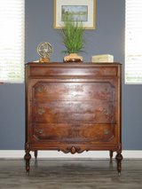 Beautiful Solid Wood Antique Chest of Drawers in Nellis AFB, Nevada