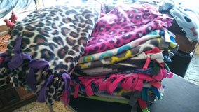 Fleece tied lap Blankets in New Lenox, Illinois