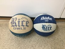 Rice Owls 28.5 Official Size Basketballs in Kingwood, Texas