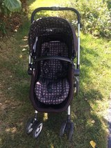 JJ Cole Broadway Bassinet/Seat stroller in Aurora, Illinois