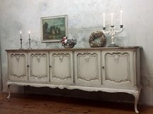 Fabulous Shabby Chic Sideboard Amazing Cabinet Dresser Chest Of Drawers Fantastic Piece! in Ramstein, Germany