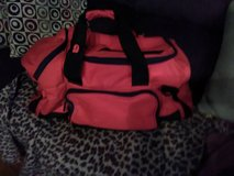 Like New Large Red/Black Duffel Bag/Sports/College Multipockets! in Fort Campbell, Kentucky