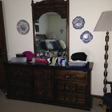 Bedroom Dresser with Mirror in Hinesville, Georgia