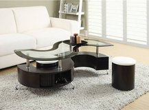 Coffee Table with stools in Fort Leavenworth, Kansas
