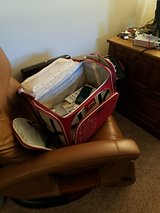 Scrapbooking rolling tote in Naperville, Illinois