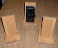 PHONE/REMOTE HOLDER WOODEN in Lakenheath, UK