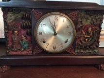 Antique oriental mantel clock in Kingwood, Texas