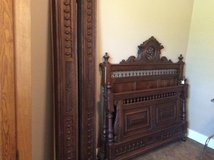 Antique Walnut bed in Houston, Texas