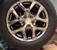 Four Honda Pilot Blizzak Snow Tires and Honda OEM Wheels in Fort Leavenworth, Kansas