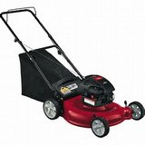 "MTD YARD MACHINES 21"" PUSH MOWER in The Woodlands, Texas"