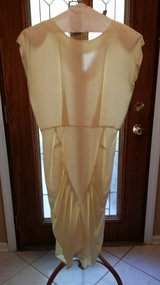Milanzo - Size 13 - Off White - Short Sleeve Long Dress in Naperville, Illinois