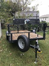 2017 6'x12' Startup Landscaping Trailer in Clarksville, Tennessee