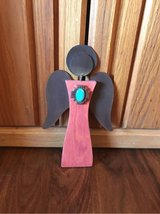 Wood and Metal Angel in Alamogordo, New Mexico