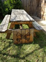 Wooden Picnic Table in Chicago, Illinois