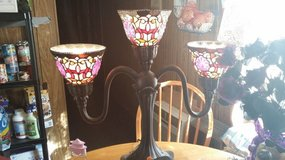 Stained glass lamp reduced in Alamogordo, New Mexico