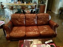 Leather couch and/or love seat in Fort Hood, Texas