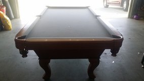 Pool table in Vacaville, California