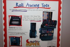 Cropper Hopper Roll Away Tote /Scrapbook Supplies in Ramstein, Germany