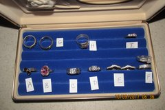 Gently Worn Womens Rings - Some .925 Sterling Silver in Houston, Texas
