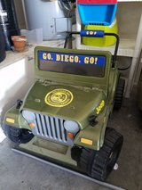 Go Diego Go Jeep in Nellis AFB, Nevada
