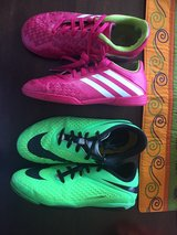 Indoor Soccer Shoes - Girls size 2 and 2.5 in Naperville, Illinois