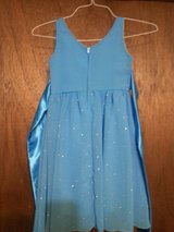 Girls blue dress in Camp Lejeune, North Carolina
