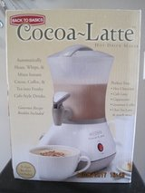 (NEW) Back to Basics Cocoa Latte Hot Drink Maker in Fairfield, California
