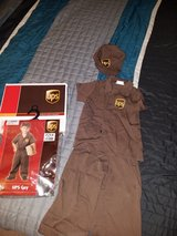 Toddler UPS carrier costume - 3/4T in Naperville, Illinois