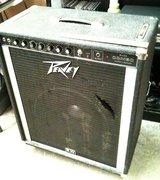 "Peavey 115 bass amp combo on casters, single 15"", works great in Fort Lewis, Washington"
