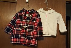 Girl toddler size 2T coat and jacket in Fort Riley, Kansas