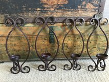 Metal Candle Wall Decor in Shorewood, Illinois
