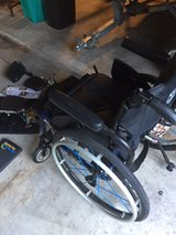 TI Lite Wheelchair 2GX -  Great Condition (this chair was for an amputee and does not have the f... in Kingwood, Texas