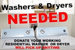 Free pickup of Washer and Dryers in Hinesville, Georgia