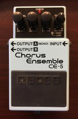 Boss Chorus Ensemble CE-5 Pedal in Okinawa, Japan
