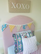 Twin size homemade headboard in Naperville, Illinois