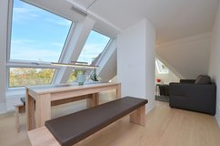 First time move-in: Beautiful furnished apartment with view in Degerloch in Stuttgart, GE