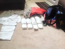 YK Martial Arts uniform & complete sparring kit. (Size:8yrs) in Naperville, Illinois