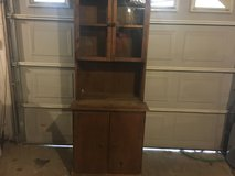 Old kitchen cabinet  hutch in Fort Campbell, Kentucky