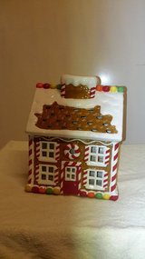Ceramic christmas house in Ramstein, Germany