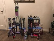 Monster High Deadluxe School in Fort Bliss, Texas