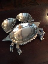 Pewter Crab hors devours Tray in Beaufort, South Carolina