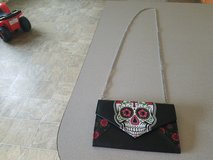 Skull small purse in Fort Riley, Kansas
