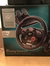 Racing Steering Wheel Set for PS3 or PC Gaming System in Warner Robins, Georgia