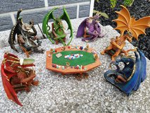 dragon figures poker table set in Ramstein, Germany