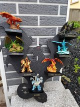 dragon figures with stand in Ramstein, Germany