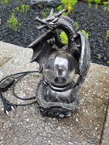 dragon lamp in Ramstein, Germany
