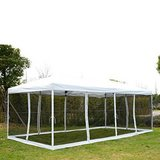 10' x 20' Pop-Up Canopy Shelter Party Tent with Mesh Walls in Fort Knox, Kentucky