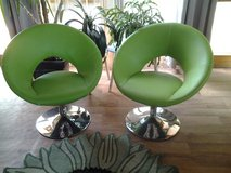 Designer Leather Chair Set (brand new) and glas Table in Baumholder, GE