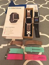 Fitbit Blaze and extra bands in Fort Leonard Wood, Missouri